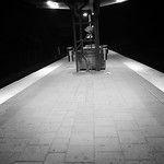 "On my way home on a empty platform. #SL #stockholm #subway #train #tunnelbana #bromma #visitstockholm #mystockholm #night <a style=""margin-left:10px; font-size:0.8em;"" href=""http://www.flickr.com/photos/131645797@N05/17400474203/"" target=""_blank"">@flickr</a>"