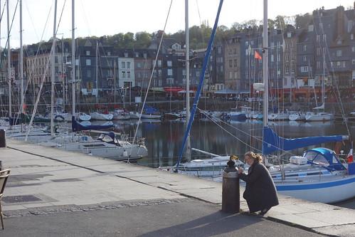 De nombreux bateaux se reposent ici en rêvant du large !