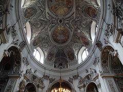 Beautiful ceiling in the Servite Church (German Servitenkirche)