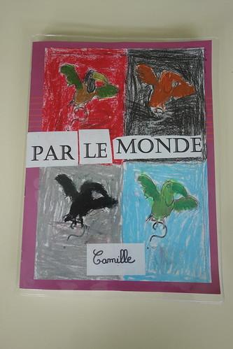 Tous les élèves ont réalisé un très beau carnet de voyage.