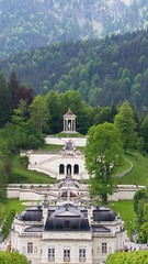 Linderhof Palace and gardens - tiny palace compared to King Ludwig's other projects