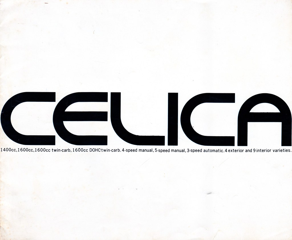 The World S Best Photos Of Brochure And Celica