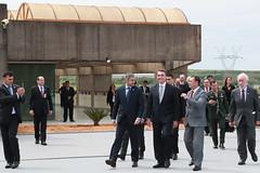 Acto de Posesión al Cargo del nuevo Director Brasileño de Itaipu