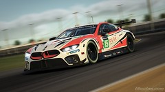 CoRe 2K19 - BMW M8 GTE Livery | Front 2