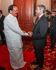 Visita del Vicepresidente de la India, Venkaiah Naidu