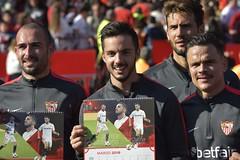 Entrenamiento Sevilla FC Navidad 2019