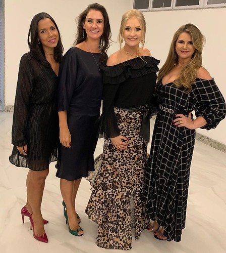 Thatyani Grossi, Ivana Magalhães, Úrsula Calhau Silva e Sônia Siman
