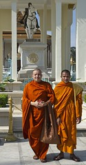 Monks, pose for me