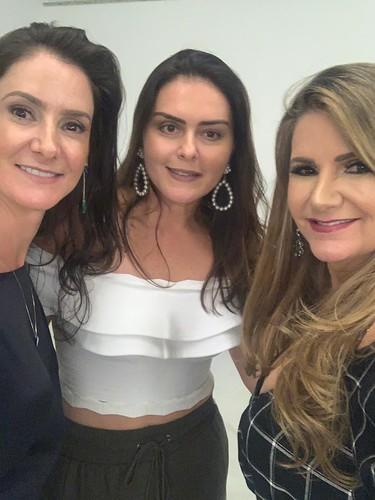 Ivana Magalhães, Lelê Martins da Costa e Sônia Siman