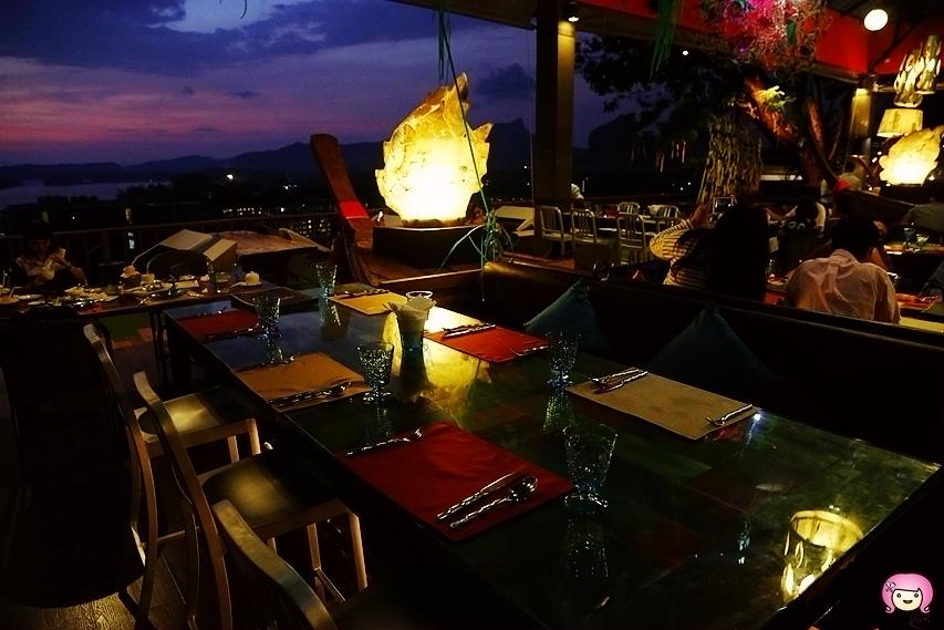 [喀比美食]Lae Lay Grill.喀比(KRABI)|夕陽美景最佳景觀餐廳.鄰近澳南海灘旁 @VIVIYU小世界