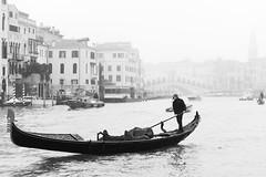 Nebbia a Rialto.Venezia gennaio 2019