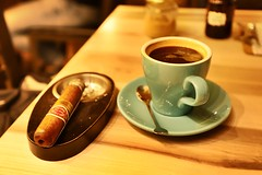 Coffee and Cigar