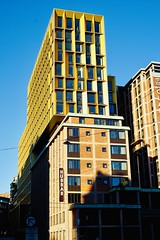 Rebuilt & renamed hotel The Hub