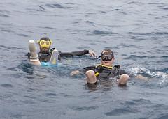 Chris Middleton bi-lateral amputee divemaster and Josh Boggi Triple Amputee PADI Rescue Diver 0812_04a