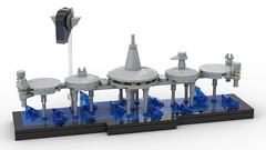 Lego Star Wars - Kamino Skyline MOC