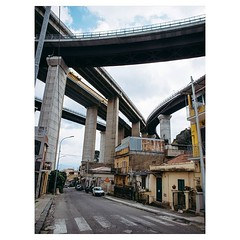 Day 1062 - Awe-inspiring overpasses I saw a few days back in Messina. #Italy