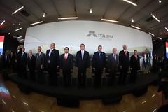 Acto de Posesión al cargo del nuevo Presidente brasileño de Itaipu