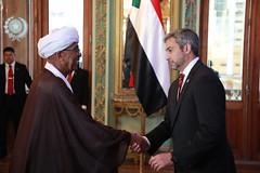 Ceremonia de presentación de Cartas Credenciales de embajadores de varios países