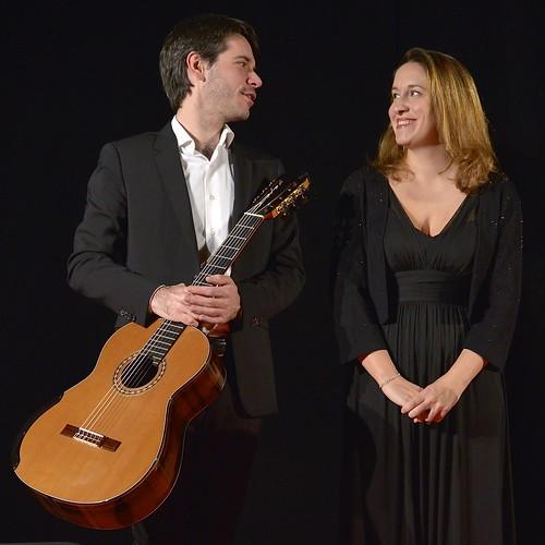 """Concert """"Vamos"""" au Festival de la Voix avec le guitariste Benjamin Valette. @MiC"""