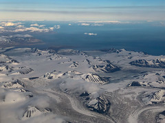 Flying to Svalbard
