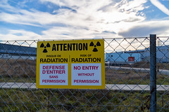 CERN Radiation Warning
