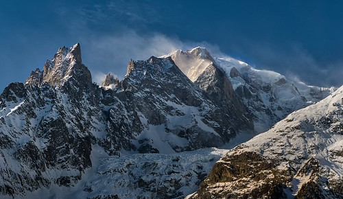 Tempête sur le Mont Blanc