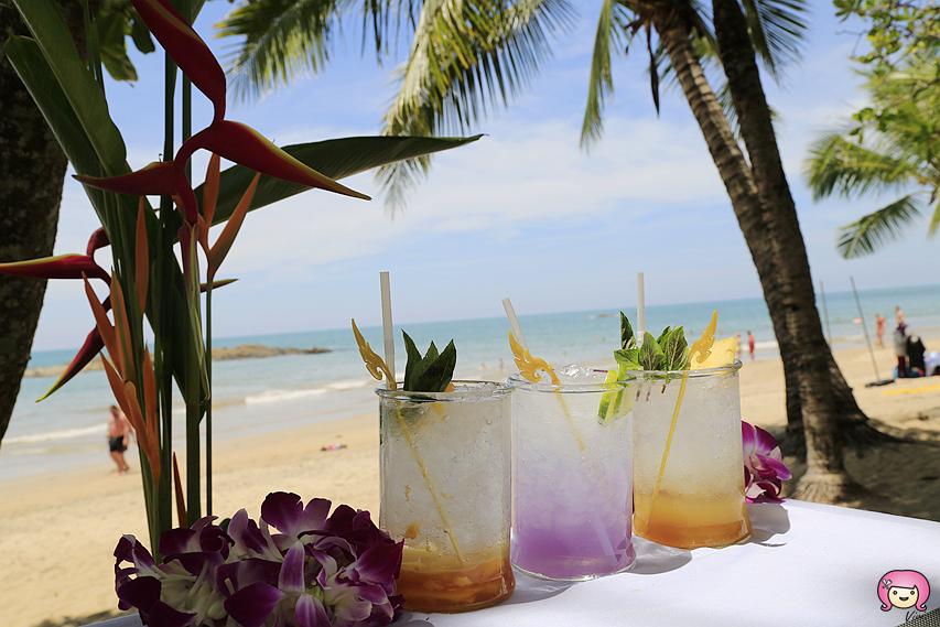 [拷叻美食]泰國攀牙灣|Talay Thong餐廳~陽光、沙灘、燈塔南洋元素.海風徐徐吹來的天然美景 @VIVIYU小世界