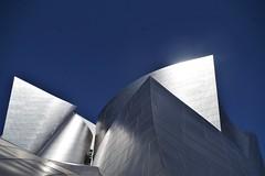 Detail of Walt Disney Concert Hall
