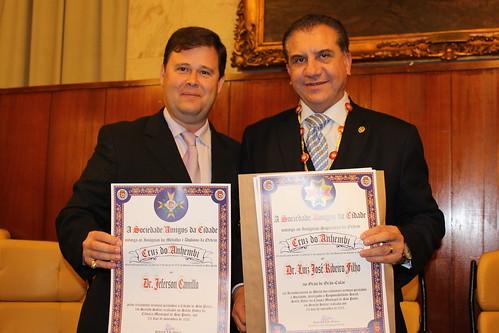 Dr. Jeferson Camillo e o Dr. Luiz José Ribeiro Filho by Dr Jeferson Camillo
