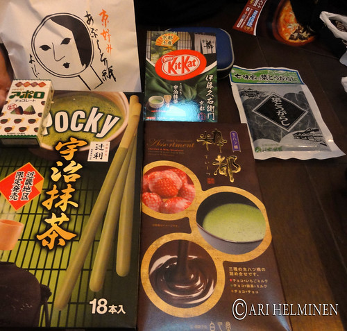 Souvenirs from Kyoto