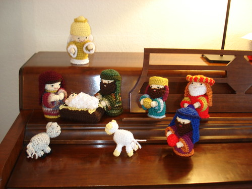 Amigurumi Nativity