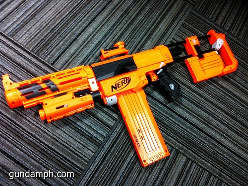 NERF Sale 50% Off Stampede Raider Recon Unboxing Review (68)