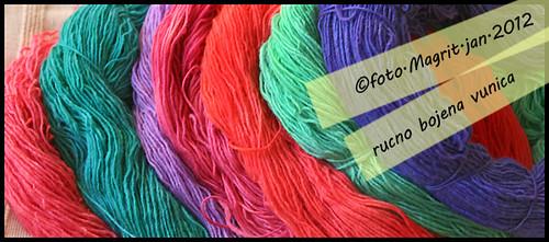 hand-dyed yarn