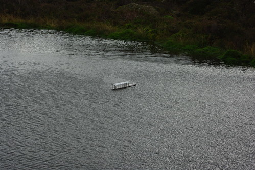 20110925-17_Toy Boat in small tarn on Haystacks by gary.hadden