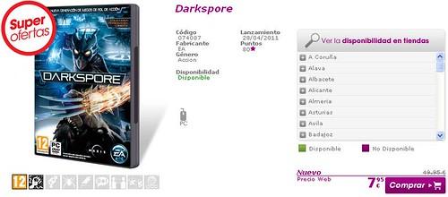 Darkspore Sale - Game Spain