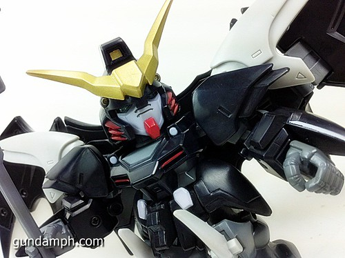 SD Gundam Online Deathscythe Hell Custom Toy Figure Unboxing Review (19)