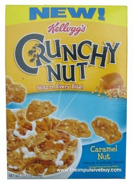Kellogg's Caramel Nut Crunchy Nut Cereal