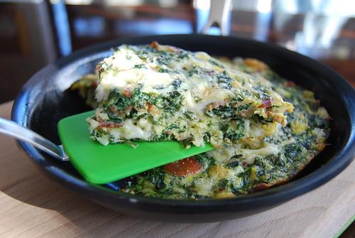 Spinach Fritatta 2