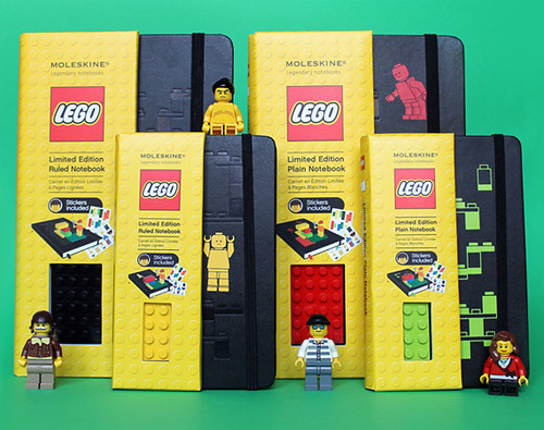 LEGO Moleskine collection
