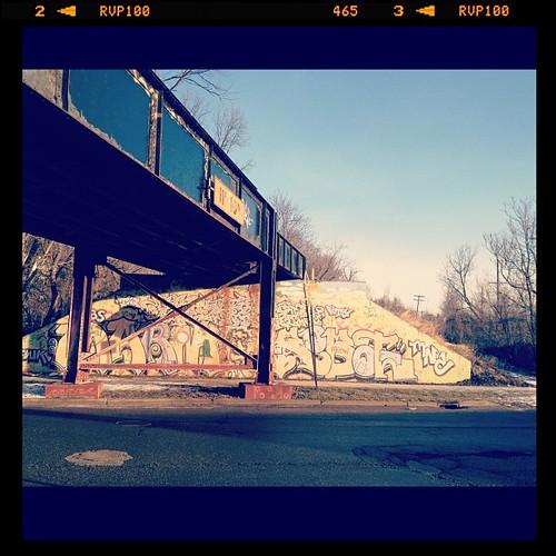 Graffiti on the morning walk