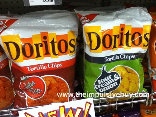 Limited Edition Doritos on shelf