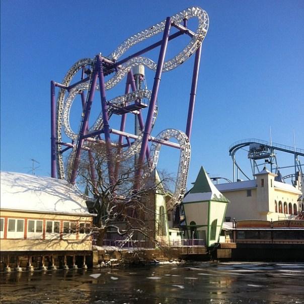 Frozen #rollercoaster.