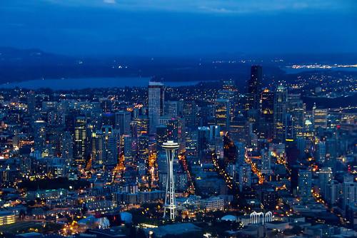 Seattle By Plane