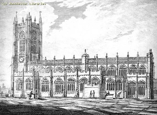 Manchester Cathedral, 1794