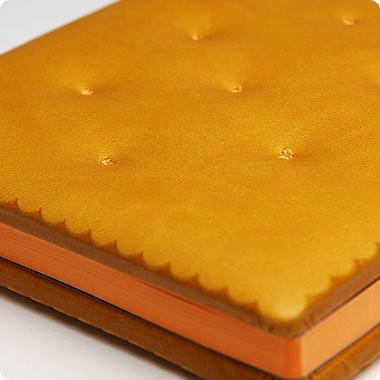 Daycraft Cookie Bookie Notebook in the Cheese Cracker Version