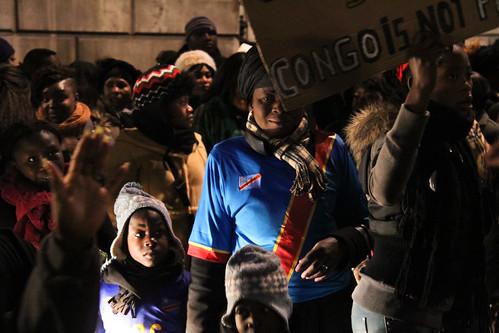 Congo protest V
