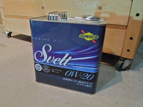 SUNOCO Svelt 0W-20 Full Synthetic SM ILSAC: GF-4