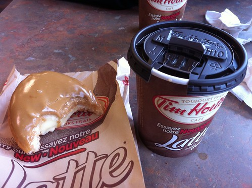Canadian maple donut & medium triple milk