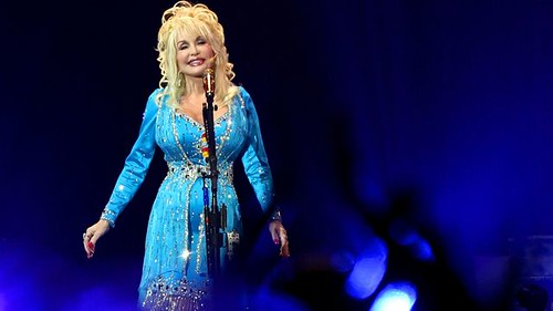 Dolly Parton at the O2