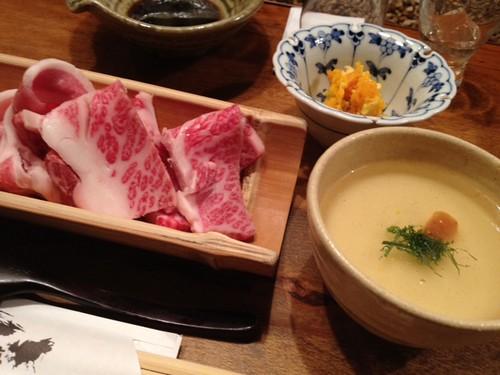 お肉、美味しかったです。@2011/12/23 高尾山